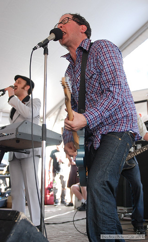 The Hold Steady at Rachael Ray\'s Feedback party, SXSW \'09