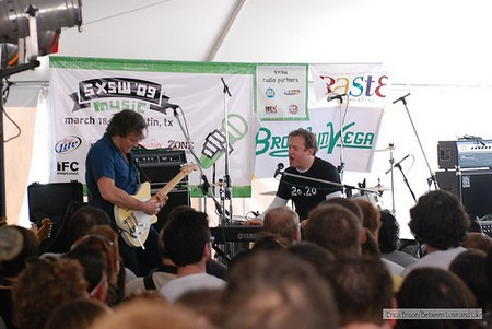 The Wrens at the Paste/BrooklynVegan party, SXSW \'09