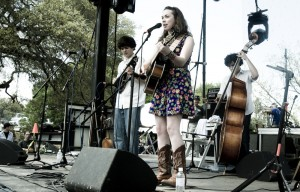 Sarah Jarosz photo courtesy of Old Settlers Music Fest