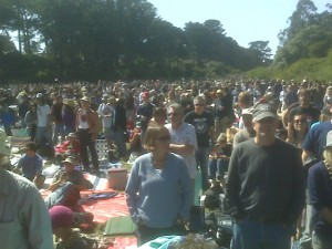 A beautiful day in Golden Gate Park