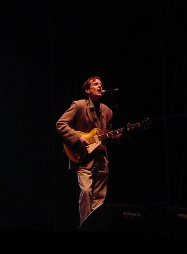 Alex Chilton performing in Spain, 2006