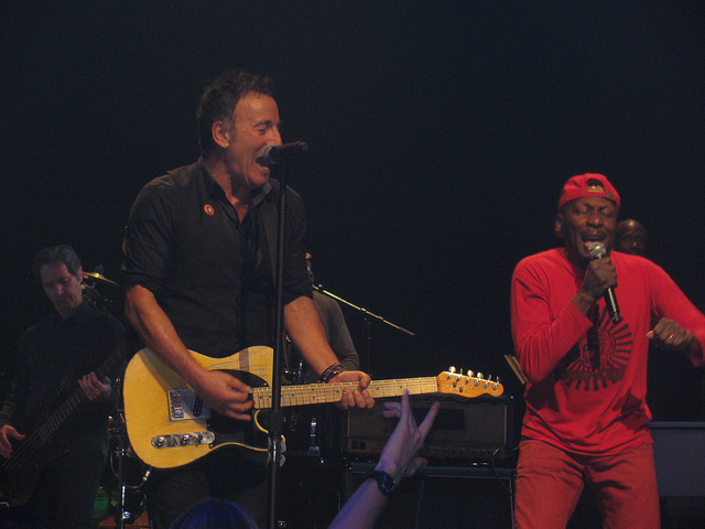 Springsteen and Cliff