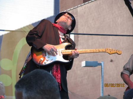 Ronnie Earl at the Western Maryland Blues Festival, 2012