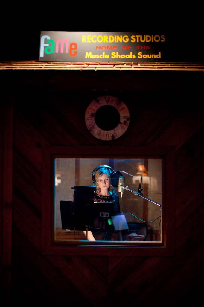 Amy Black at FAME Studios in Muscle Shoals
