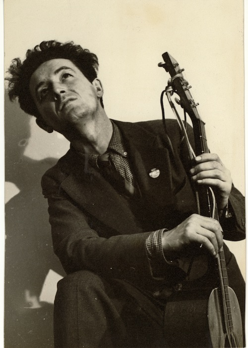 Woody Guthrie in New York City