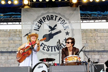 Carry Ann Hearst & Michael Trent of Shovels & Rope