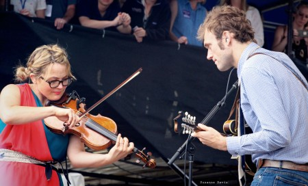 Chris Thile & Sara Watkins of Nickel Creek