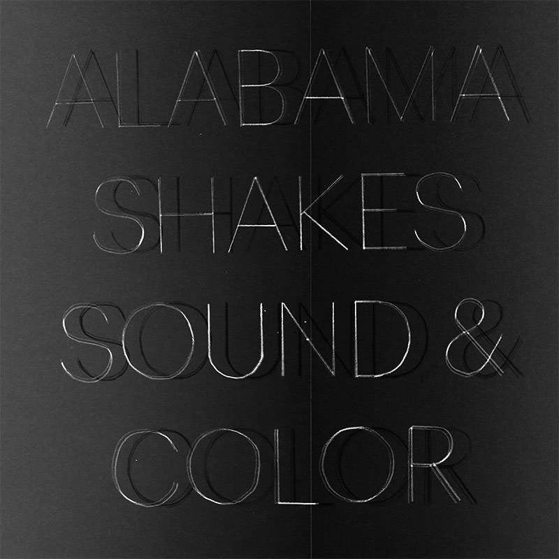 Alabama Shakes - Sound and Color - Cover art