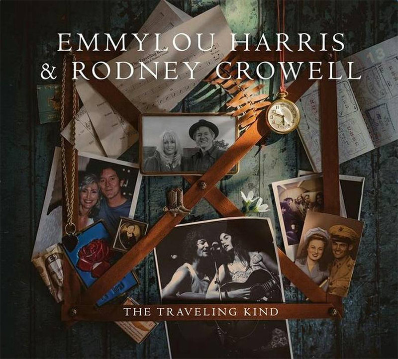 EMMYLOU HARRIS & RODNEY CROWELL, The Traveling Kind - cover art