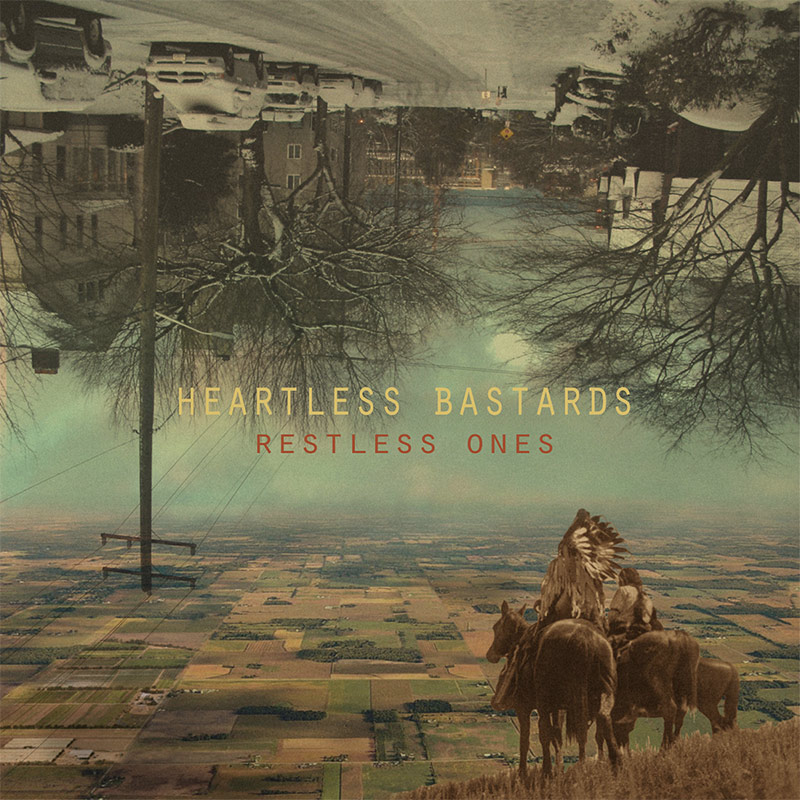 Heartless Bastards, Restless Ones - cover art
