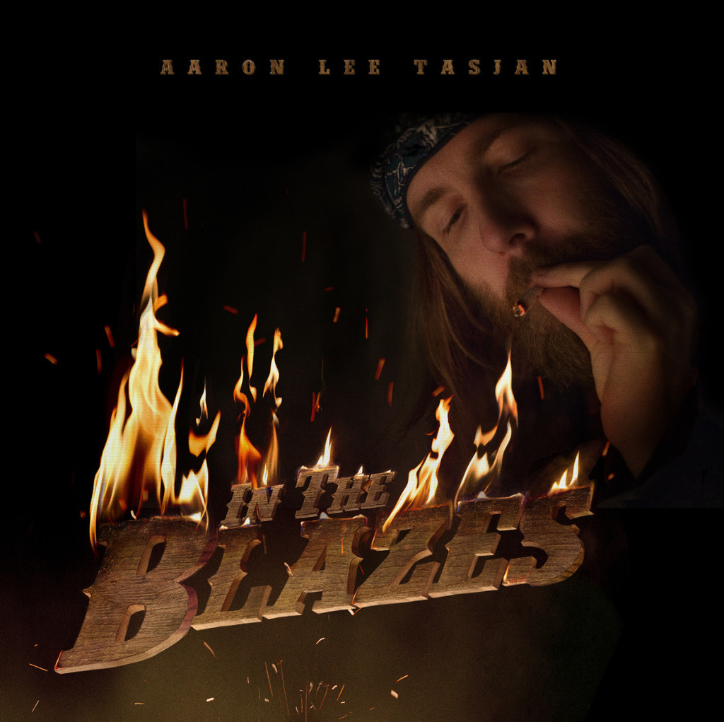 Aaron Lee Tasjan, In The Blazes (cover art)