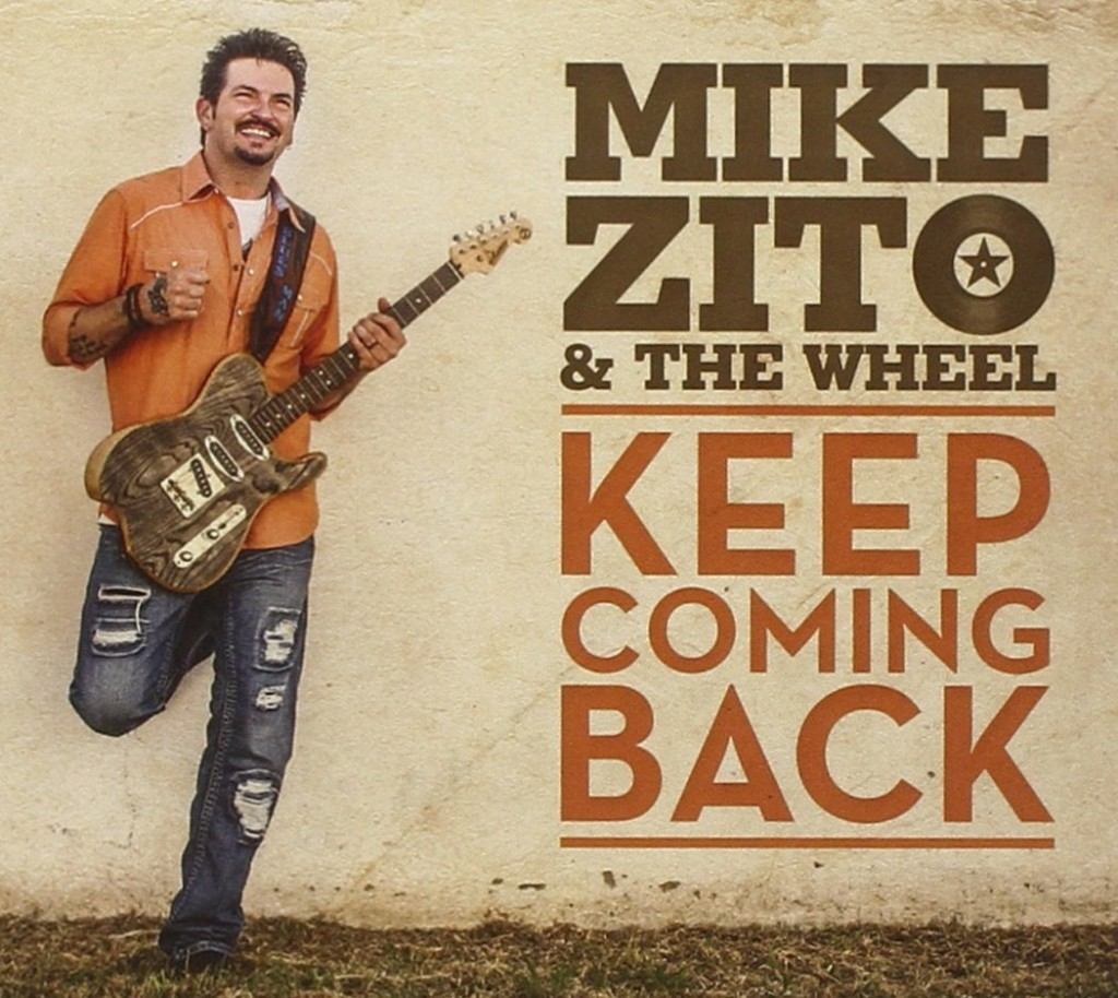 Mike Zito & The Wheel, Keep Coming Back (cover art)