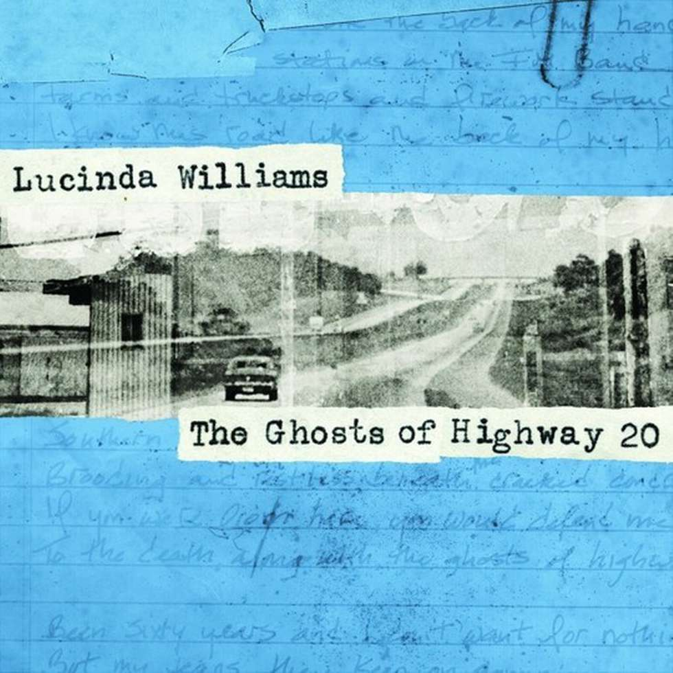 Lucinda Williams, Ghosts of Highway 20 - cover art