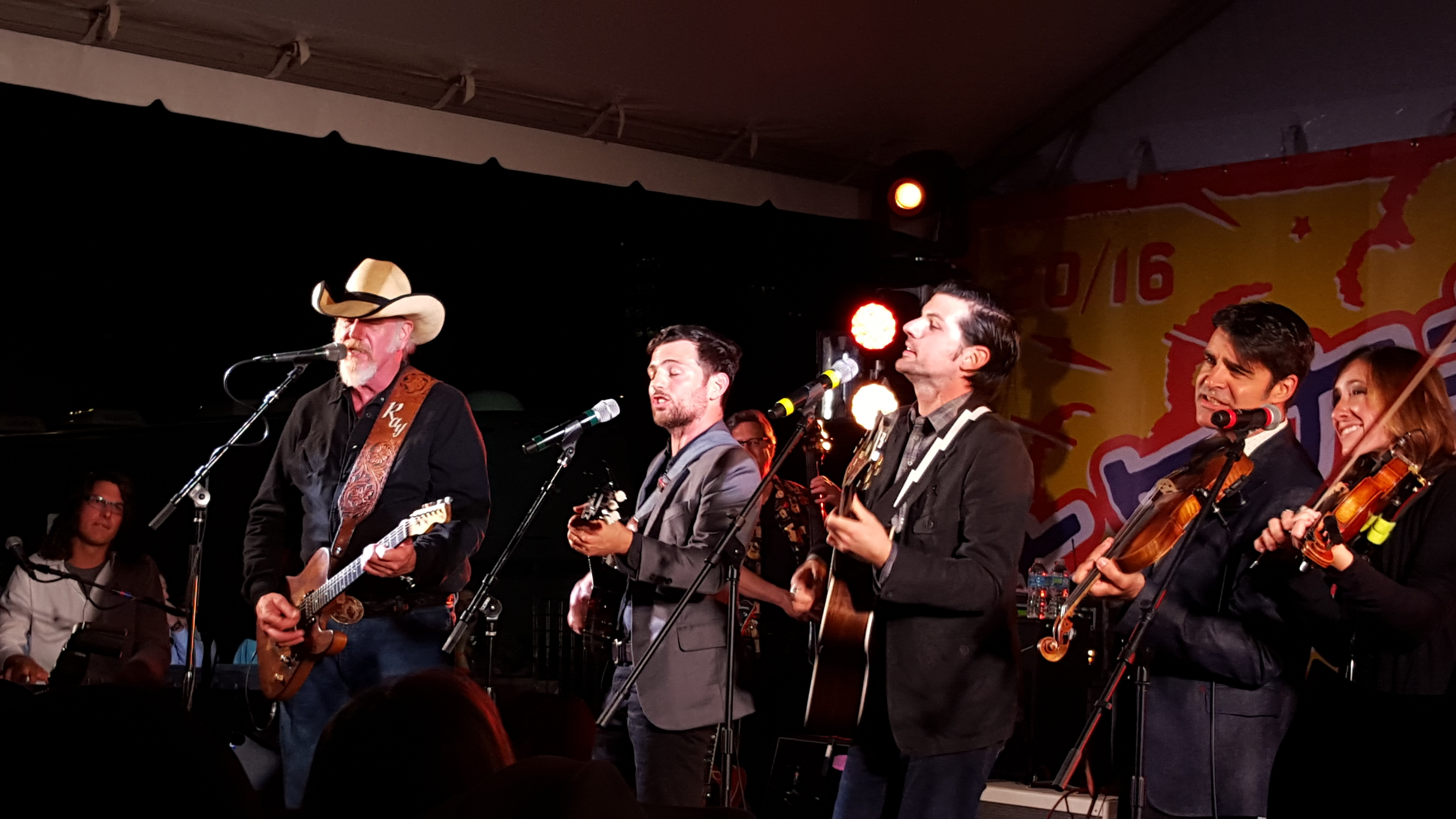 Ray Benson and The Avett Brothers