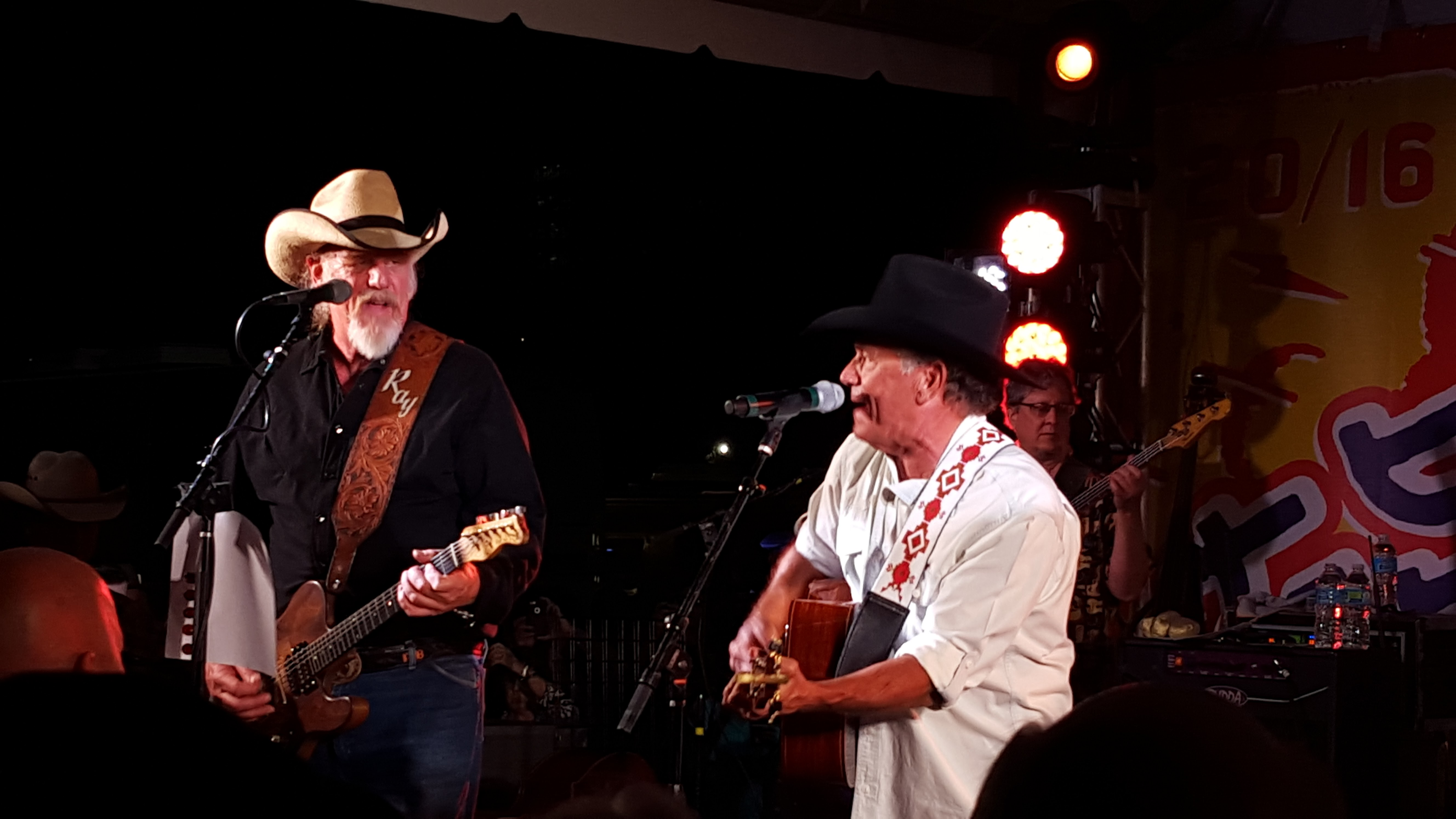 Ray Benson and George Strait