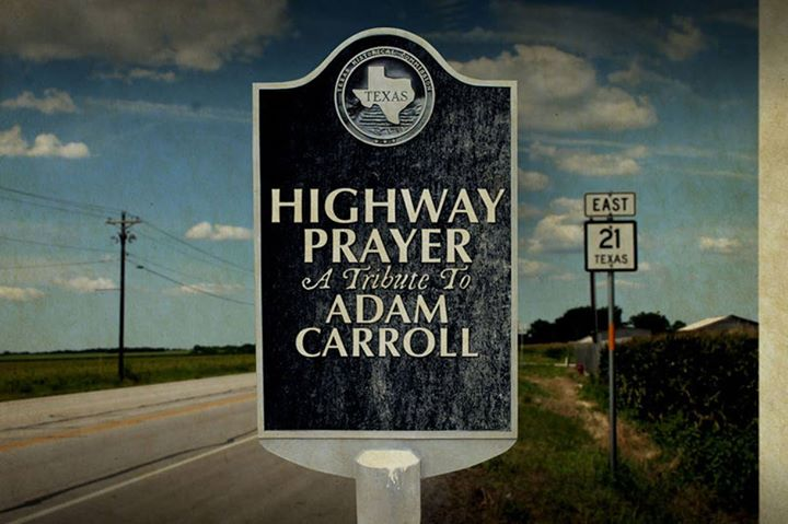Readers' Pick: Highway Prayer – Tribute to Adam Carroll by Various Artists