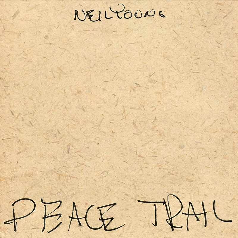 Neil Young, Peace Trail - cover art
