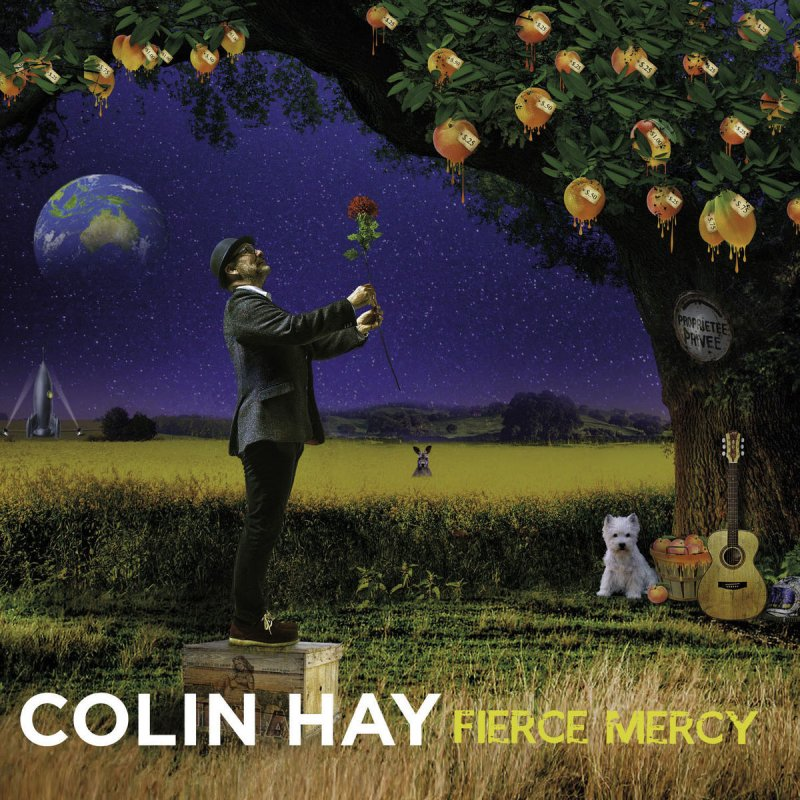Colin Hay, Fierce Mercy - cover art
