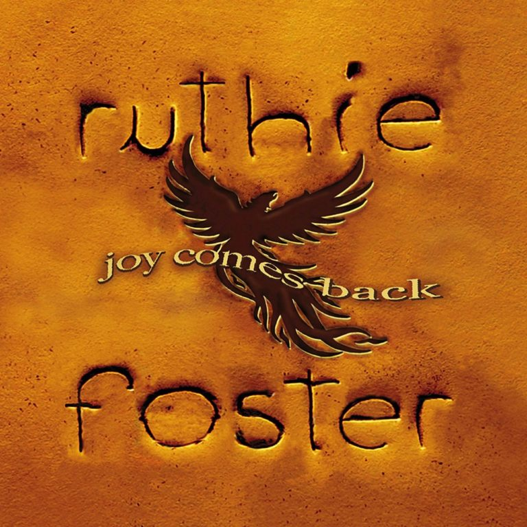 Ruthie Foster - Joy Comes Back - Cover art