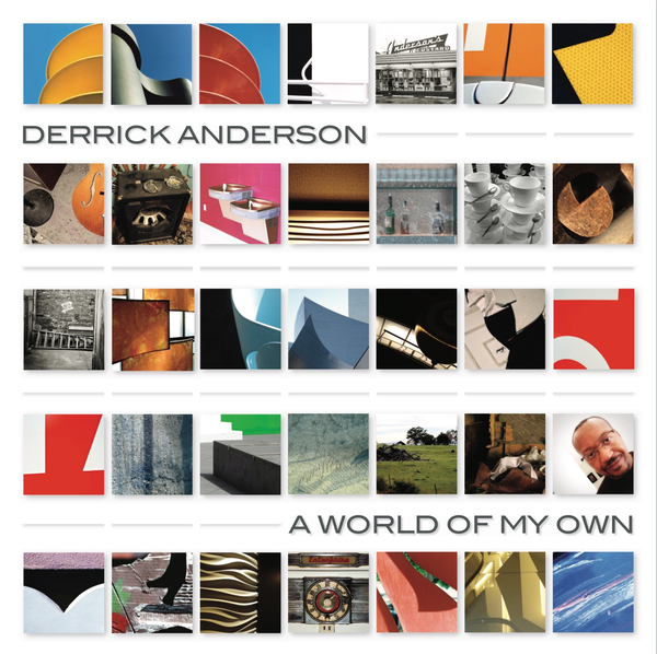 Derrick Anderson, A World of My Own - cover art