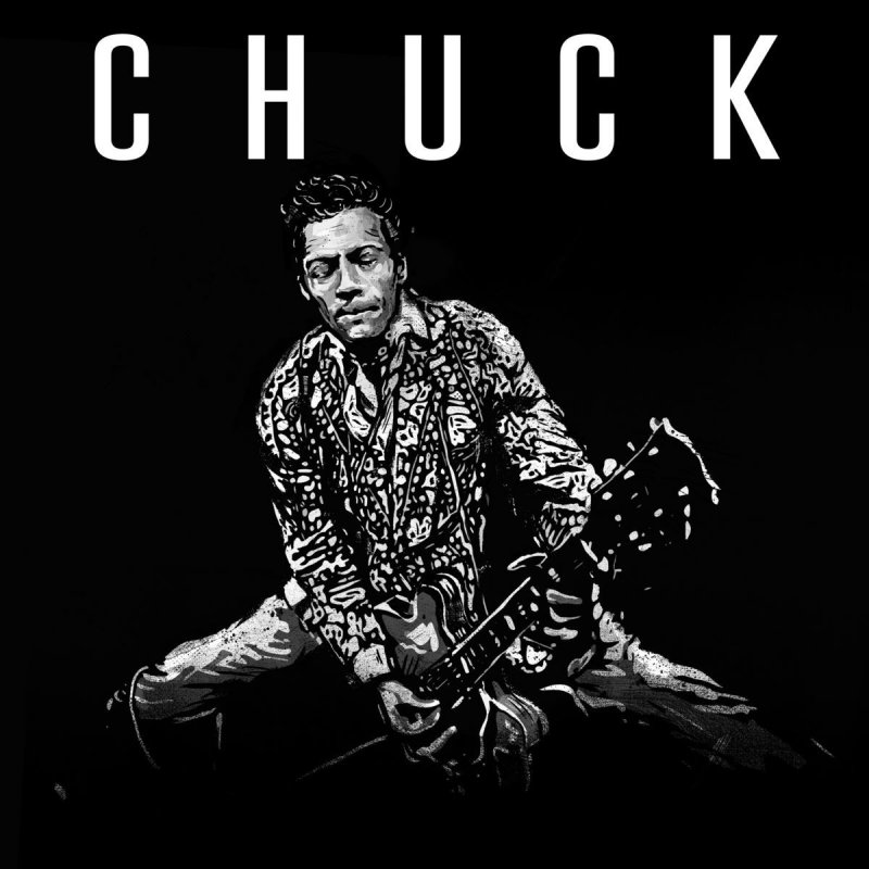Chuck Berry, Chuck - cover art