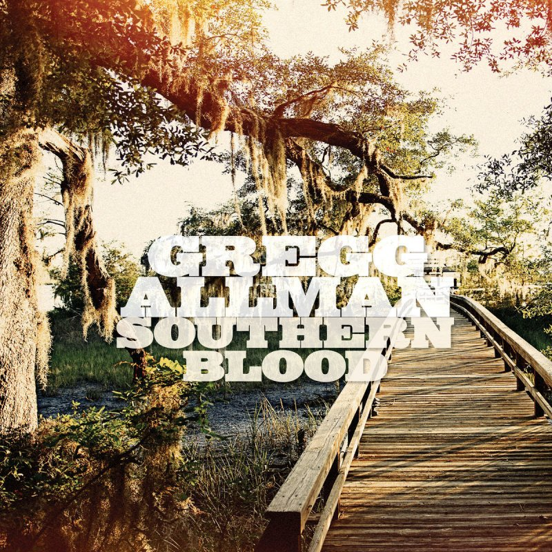 Gregg Allman, Southern Blood - cover art