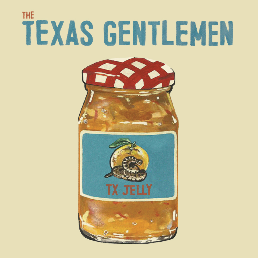 The Texas Gentlemen - TX Jelly - cover art