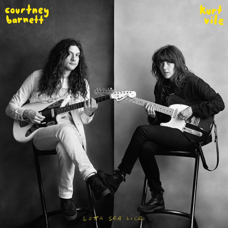 Courtney Barnett and Kurt Vile, Lotta Sea Lice - cover art