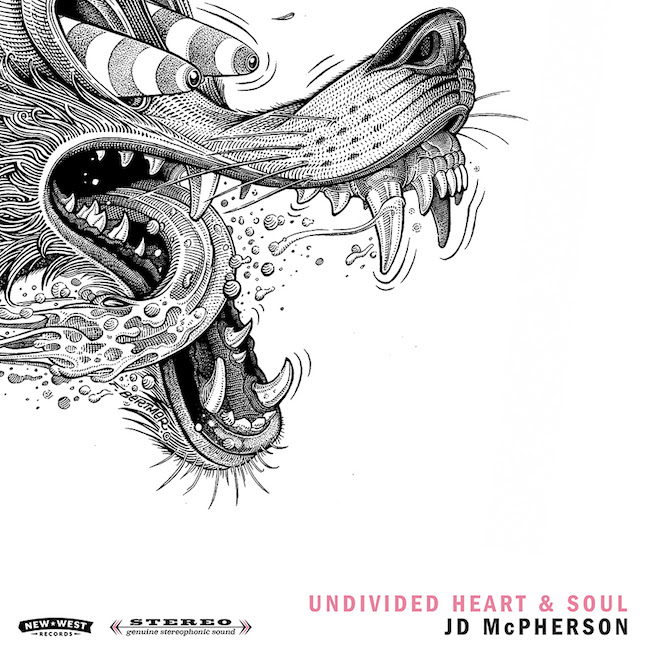 JD McPherson, Undivided Heart & Soul - cover art