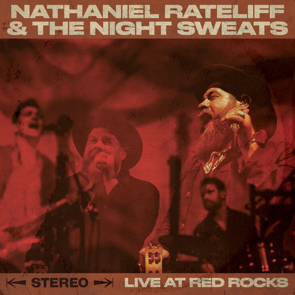 Nathaniel Rateliff (live) - cover art