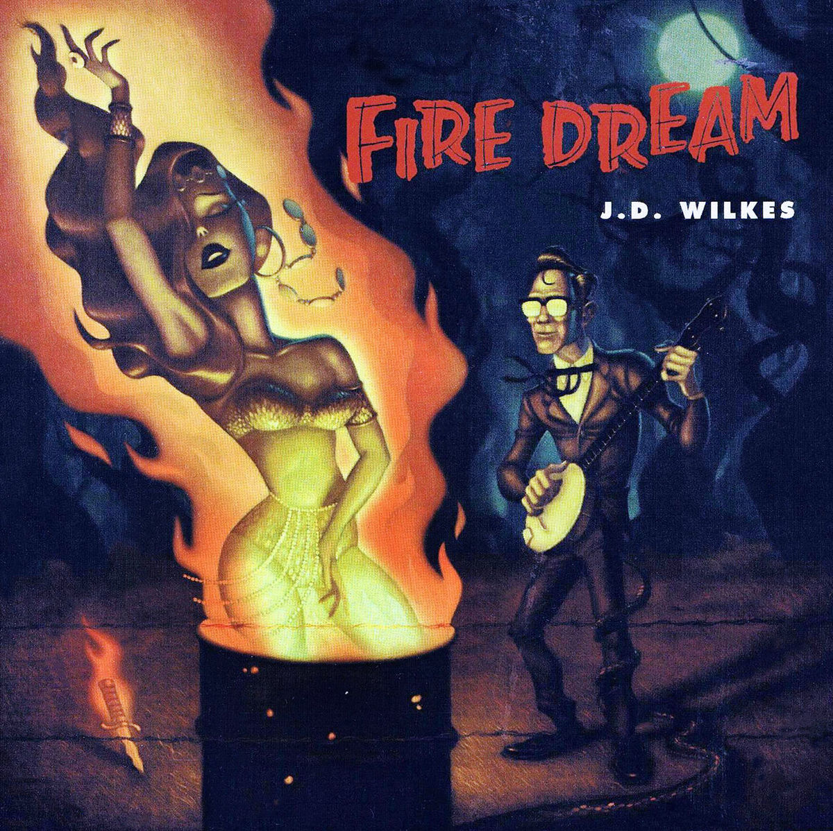 J.D. Wilkes, Fire Dream - cover art