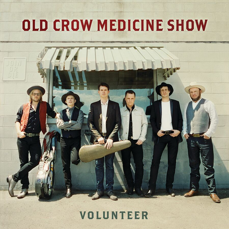 Old Crow Medicine Show - Volunteer, cover art