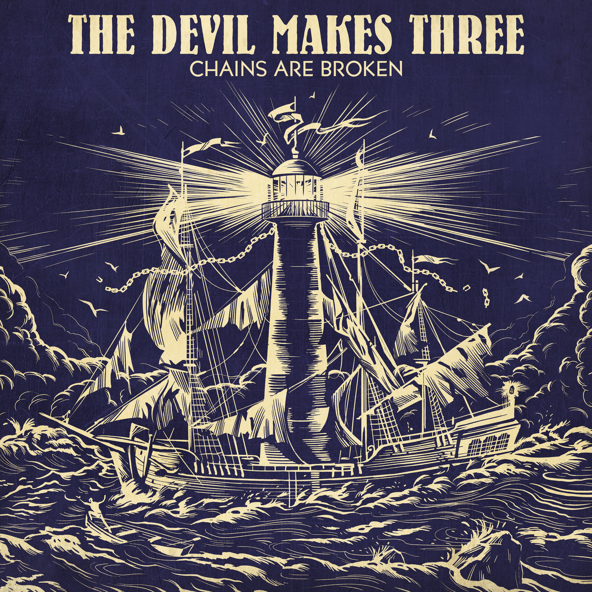 The Devil Makes Three - Chains Are Broken (cover art)