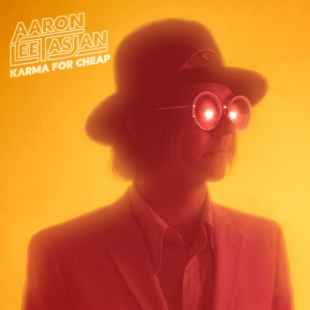 Aaron Lee Tasjan - Karma For Cheap (cover art)