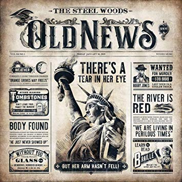 THE STEEL WOODS – Old News (cover art)