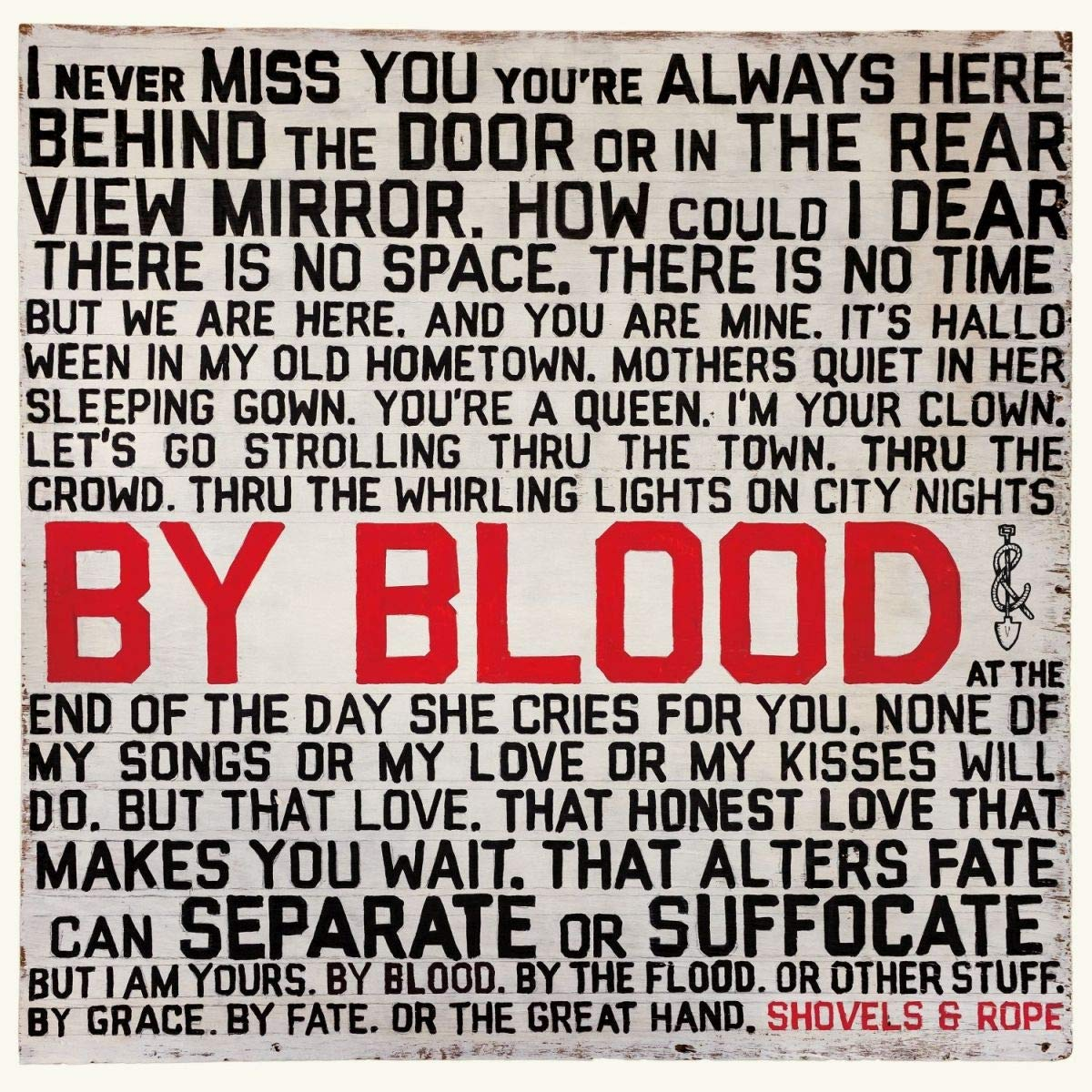 Shovels & Rope - By Blood (cover art)