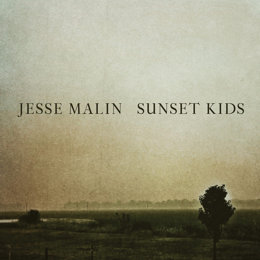 Jesse Malin - Sunset Kids (cover art)