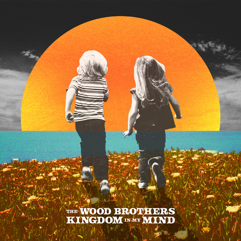 The Wood Brothers – Kingdom in My Mind (cover art)