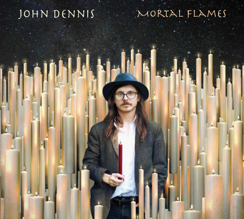 John Dennis - Mortal Flames (cover art)