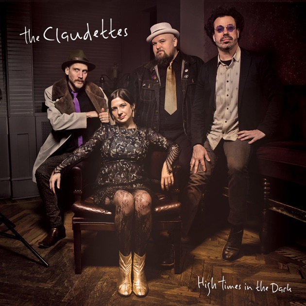 The Claudettes – High Times in the Dark (cover art)