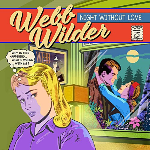 Webb Wilder – Night Without Love (cover art)