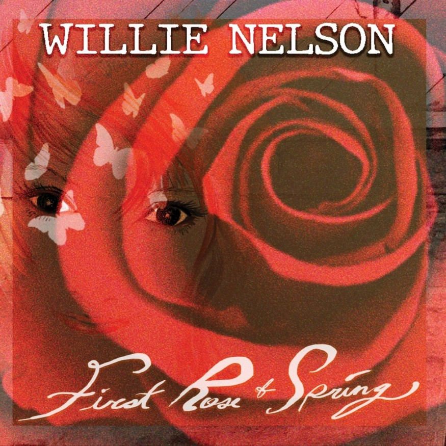 Willie Nelson - First Rose of Spring (cover art)