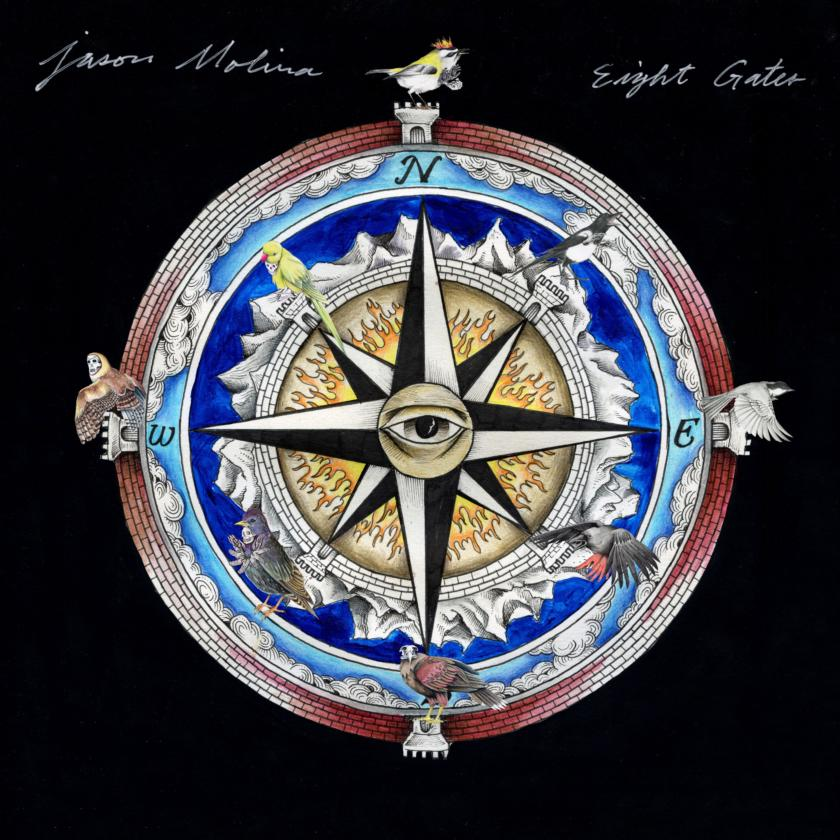 Jason Molina – Eight Gates (cover art)