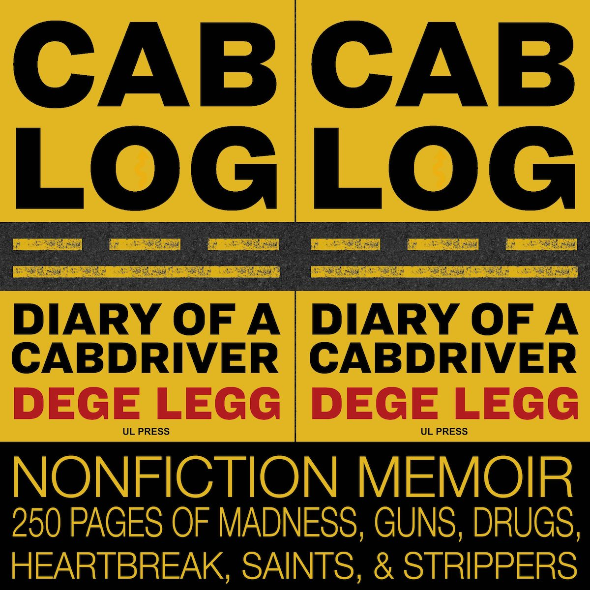 Cablog - a nonfiction memoir by Dege Legg