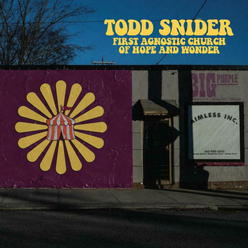 Todd Snider – First Agnostic Church of Hope and Wonder (cover art)