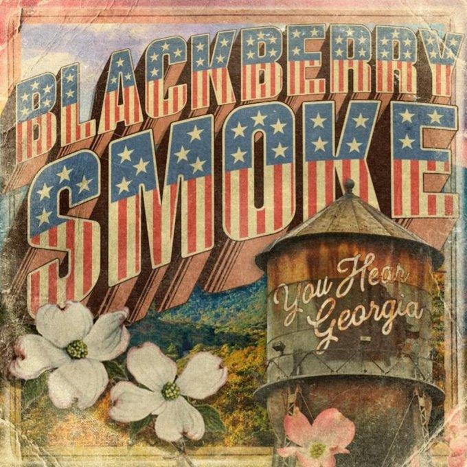 Blackberry Smoke – You Hear Georgia (cover art)