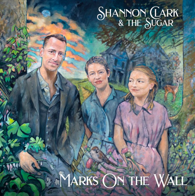Shannon Clark & The Sugar – Marks on the Wall (cover art)